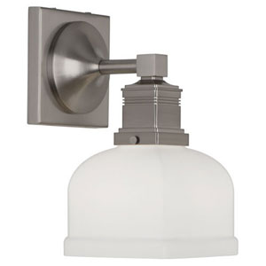 Taylor Brushed Nickel One-Light Bath Sconce