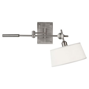 Rico Espinet Miles Brushed Nickel One-Light Sconce