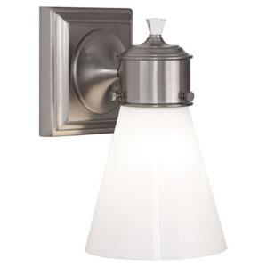 Williamsburg Blaikley Brushed Nickel One-Light Bath Sconce