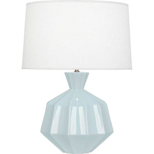 Orion Baby Blue One-Light 27-Inch Ceramic Table Lamp