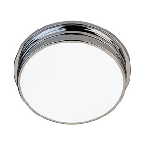 Roderick Chrome Two-Light Flush Mount