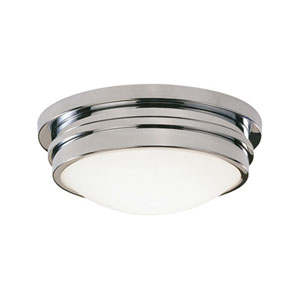 Roderick Chrome One-Light Flush Mount