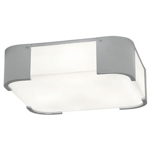 Bryce Chrome Three-Light Flush Mount