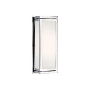 Bradley Chrome Two-Light Wall Lamp