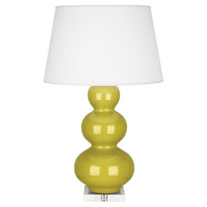 Triple Gourd Citron One-Light Table Lamp