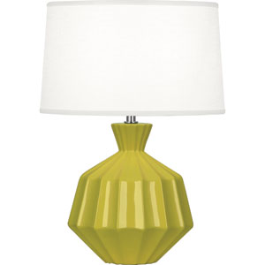 Orion Citron One-Light 17-Inch Ceramic Table Lamp