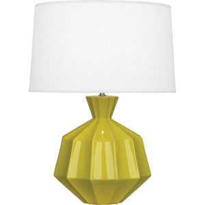 Orion Citron One-Light 27-Inch Ceramic Table Lamp