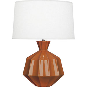 Orion Cinnamon One-Light 27-Inch Ceramic Table Lamp