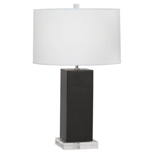 Harvey Ash and Polished Nickel 33-Inch One-Light Table Lamp