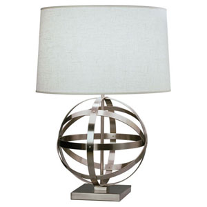 Lucy Dark Antique Nickel 29-Inch One-Light Table Lamp