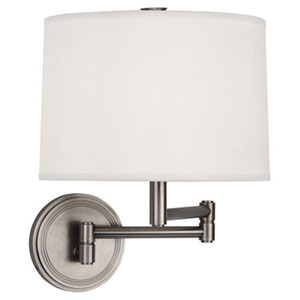 Sofia Dark Antique Nickel One-Light Wall Swinger