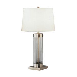 Andre Dark Antique Nickel One-Light Table Lamp