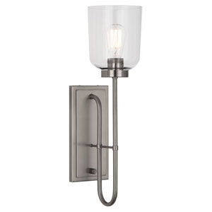 Williamsburg Tyrie Dark Antique Nickel One-Light Sconce