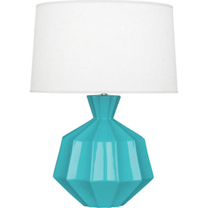 Orion Egg Blue One-Light 27-Inch Ceramic Table Lamp
