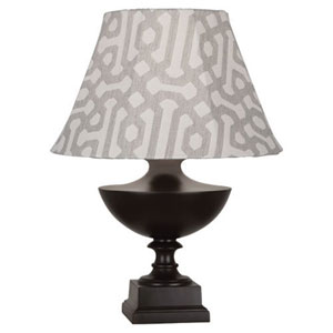 Freya Al Fresco Java Brown One-Light Table Lamp