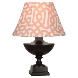Freya Al Fresco Java Brown One-Light Table Lamp