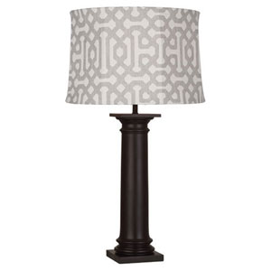 Phoebe Al Fresco Java Brown One-Light Table Lamp