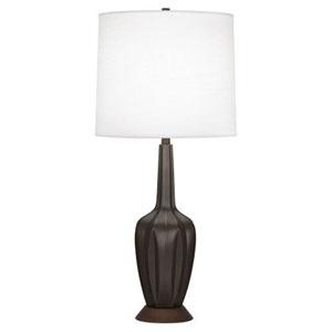 Cecilia Matte Coffee 36.5-Inch One-Light Table Lamp