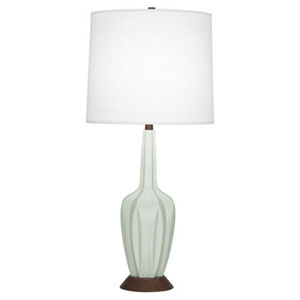 Cecilia Matte Celadon 36.5-Inch One-Light Table Lamp