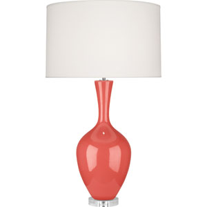 Audrey Melon One-Light Ceramic Table Lamp