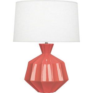 Orion Melon One-Light 27-Inch Ceramic Table Lamp