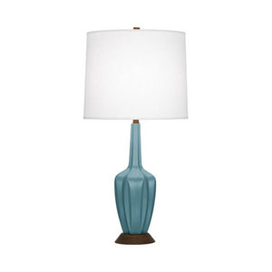 Cecilia Matte Steel Blue 31.5-Inch One-Light Table Lamp
