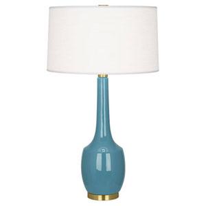 Delilah Ocean Blue One-Light Table Lamp
