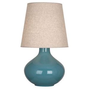 June Ocean Blue One-Light Table Lamp