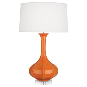 Pike Pumpkin One-Light Table Lamp