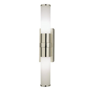 Roderick Polished Nickel Two-Light Bath Sconce