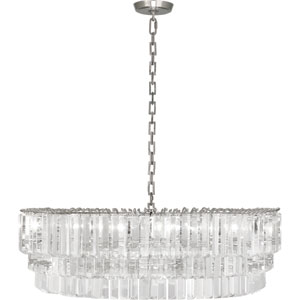 Spectrum Polished Nickel Six-Light Chandelier