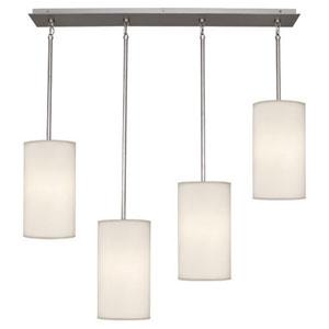 Echo Stainless Steel Four-Light Pendant