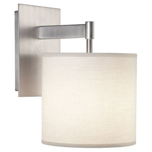 Echo Stainless Steel One-Light Sconce
