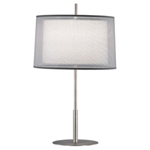Saturnia Stainless Steel 30-Inch One-Light Table Lamp