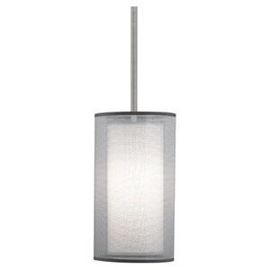 Saturnia Stainless Steel One-Light Mini Pendant