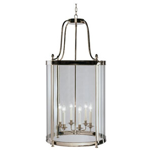 Blake Polished Nickel Six-Light Chandelier