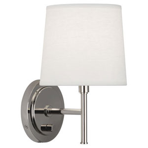 Bandit Polished Nickel One-Light Sconce