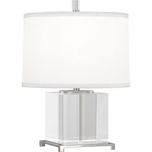 Williamsburg Finnie Polished Nickel One-Light Table Lamp