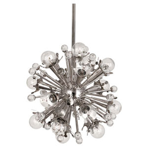 Jonathan Adler Sputnik Polished Nickel 18-Light Chandelier