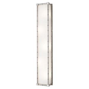 Jonathan Adler Meurice Polished Nickel Five-Light Wall Lamp
