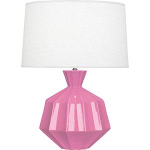 Orion Schiaparelli Pink One-Light 27-Inch Ceramic Table Lamp