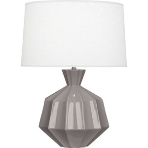 Orion Smoky Taupe One-Light 27-Inch Ceramic Table Lamp
