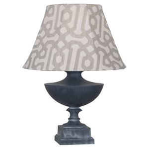 Freya Al Fresco Zinc One-Light Table Lamp