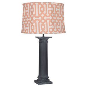 Phoebe Al Fresco Zinc One-Light Table Lamp
