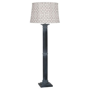 Phoebe Al Fresco Weathered Zinc One-Light Floor Lamp