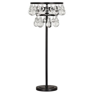 Bling Deep Patina Bronze Two-Light Table Lamp