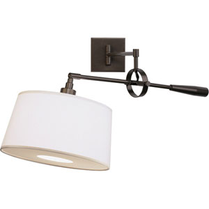 Real Simple Dark Bronze One-Light Wall Swinger