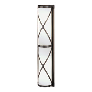 Chase Deep Patina Bronze Four-Light Bath Sconce