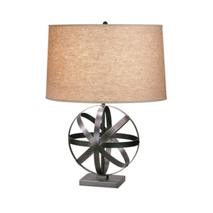 Lucy Deep Patina Bronze 23-Inch One-Light Table Lamp