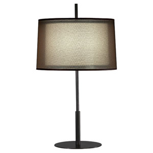 Saturnia Deep Patina Bronze 30-Inch One-Light Table Lamp
